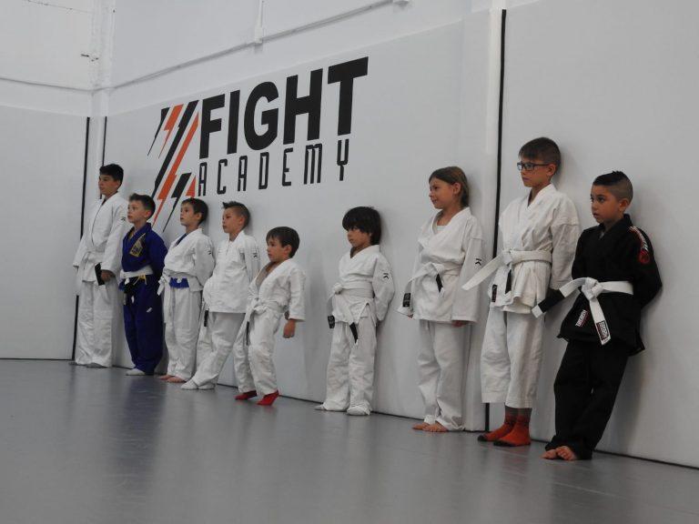 BJJ kids zfight academy